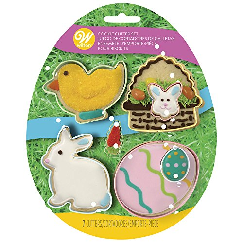Wilton Easter Shapes Cookie Cutter Set of 7, 2308-7558