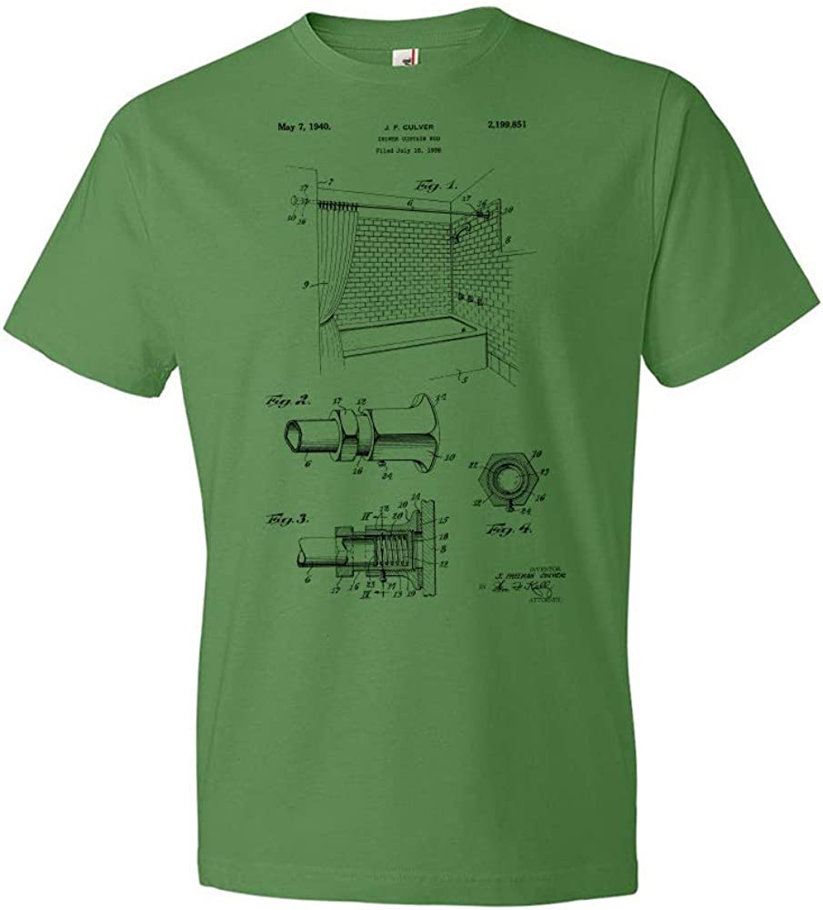 Limited time sale High quality Shower Curtain Rod T-Shirt Bathroom Contractor Restr Gift Tee