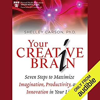 Your Creative Brain audiobook cover art