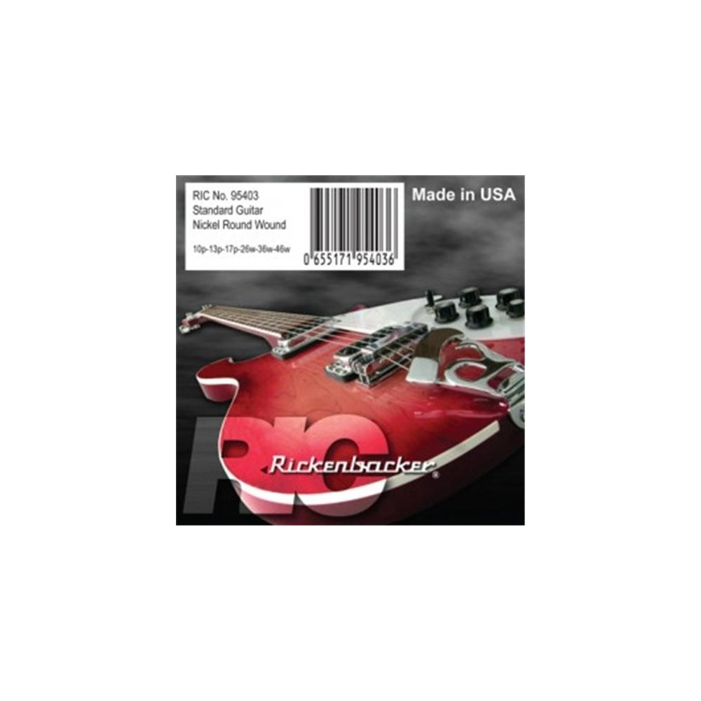 Cheap Rickenbacker 6-String Compressed Roundwound Electric Guitar Strings (10-46)10-42 Black Friday & Cyber Monday 2019