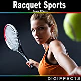 Badminton Racket with String and Bouncing Version 3