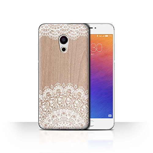 Stuff4 Phone Case/Cover/Skin/mzupro6/fine Lace Wood Collection Beauté Orné