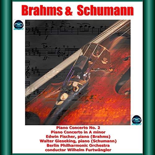 Edwin Fischer, Walter Gieseking, Wilhelm Furtwängler & Berlin Philharmonic Orchestra