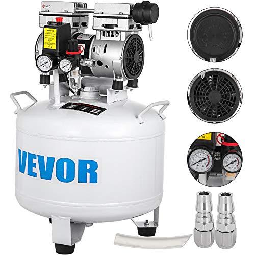 Moracle Compresor de Aire sin Aceite Silencioso de 8.8 Galones / 40 Litros