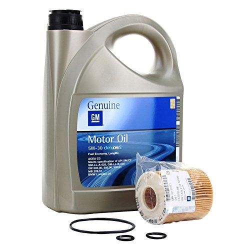 Opel Kit Filtro Aceite Motor GM General Motor Oil 5w30 5...