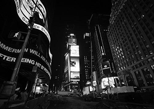 New York Time Square bei Nacht Fotografie 30 x 40 cm
