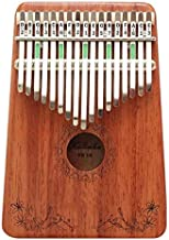 MAODOXIANG Thumb Pianos 17 Keys Kalimba African Thumb Piano Mahogany Mabira Finger Percussion Keyboard Wood Music Instrume...