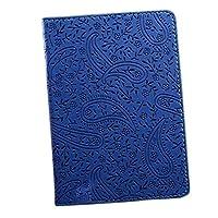 ioffersuperラベンダー旅行パスポートホルダーカバーFauxレザーIDカードチケットEnticingケースブルー