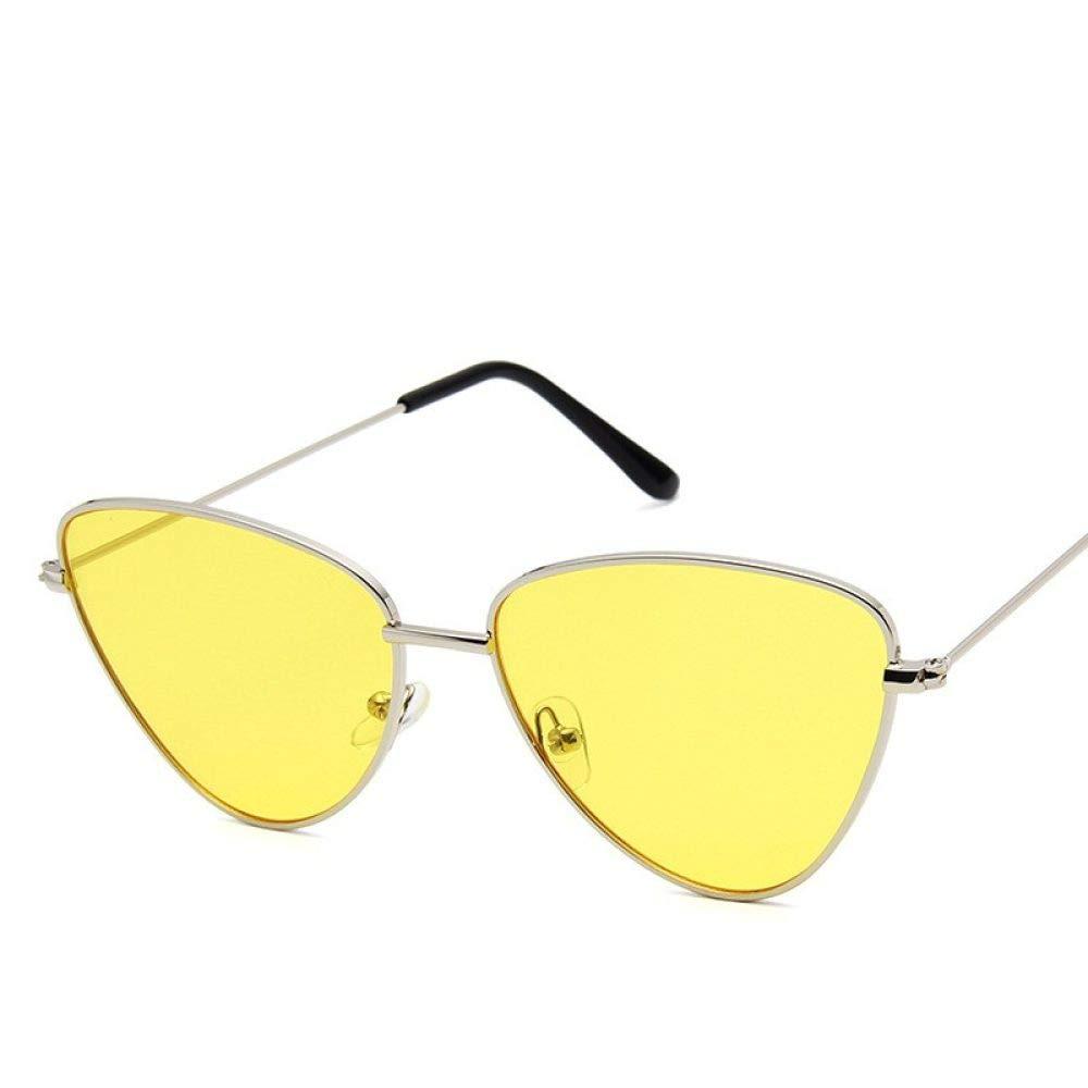WOAIXI Gafas Sol,Gafas De Sol Deporte,Ojo De Chatlunettes De Sol Polarizadas Ciclismo con Protección Uv400 para Hombres Y Mujeres Lente Amarillo 342C7: Amazon.es: Deportes y aire libre