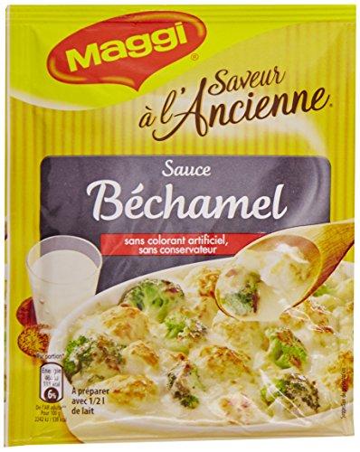 Maggi Sauce Salée Bechamel Maggi - base déhydratée à préparer avec 1/2 L de lait