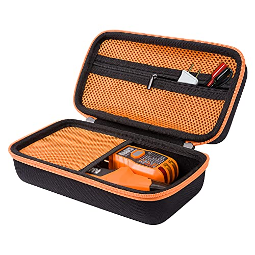 Aenllosi Storage Hard Case Replacement for Klein Tools ET310 AC Circuit Breaker Finder Tool Kit , with Zippered Grid Breaker Finder Accessory Kit Storage Pouch for Integrated GFCI Socket Tester