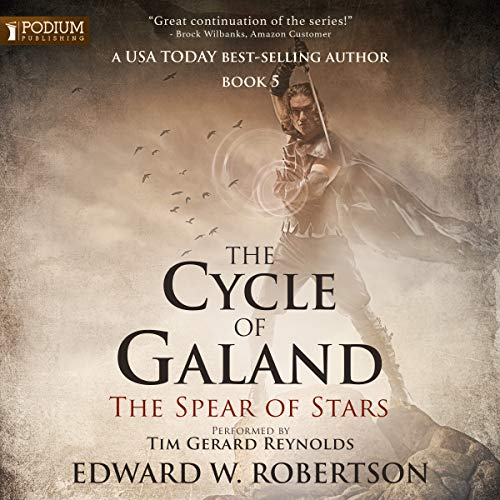 The Spear of Stars     The Cycle of Galand, Book 5              Auteur(s):                                                                                                                                 Edward W. Robertson                               Narrateur(s):                                                                                                                                 Tim Gerard Reynolds                      Durée: 20 h et 33 min     66 évaluations     Au global 4,9