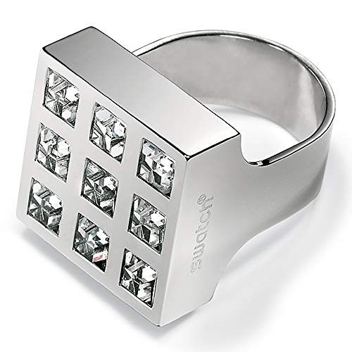 Swatch Prismatic White Crystals JRW005 - Anillo