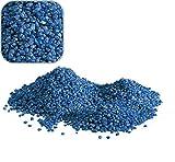 Amtra 5 Kg blauen Quarzkies Premium Qualität 2-3 mm Bodengrund Aquarium Kies Süßwasser Meerwasser Aquariumkies