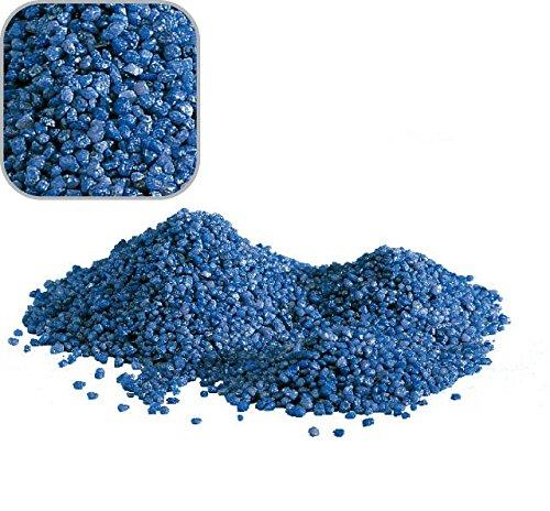 Amtra 20 Kg blauen Quarzkies 'Premium Qualität' 2-3 mm Amtra Bodengrund Aquarium Kies Süßwasser Meerwasser Aquariumkies