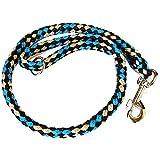 Perros trenzado cuerda 1m corta para grandes y medianas perros redondo...
