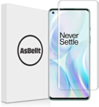 AsBellt Screen Protector for OnePlus 8 Pro Tempered Glass [Full Adhesive] [Fingerprint Sensor Compatible][Lifetime Replacement Warranty] Glass Screen Protector for OnePlus 8 Pro