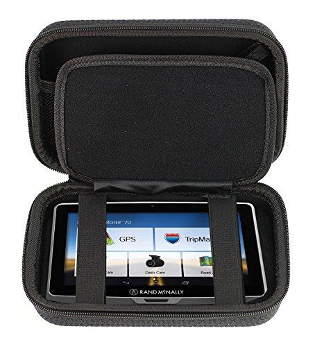 Navitech Schwarz Premium Travel Hard Tragetasche Cover für die Rand McNally TND 540 GPS