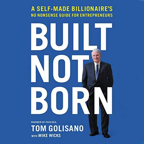 Built, Not Born audiobook cover art