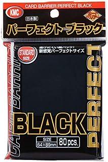 KMC Sleeves Perfect Sized Full Sized Black (80)