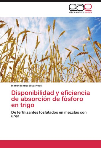 Disponibilidad y eficiencia de absorción de fósforo en trigo: De fertilizantes fosfatados en mezclas con urea