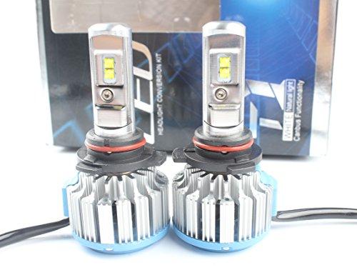 ANFTOP 2x 9012 HIR2 LED Faro Bombillas Alquiler de luces 70W 7200Lm (2x 35W / 3600Lm) LED Bombillas para Faros Delanteros Kit de Conversion Impermeable Bombilla Blanco 6000K