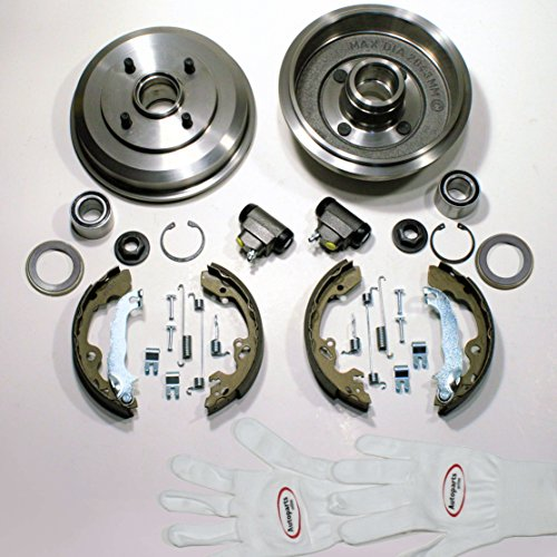 Autoparts-Online Set 60005764 Bremstrommel/Bremsen Set für hinten/für die Hinterachse