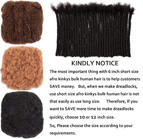 Afro kinky human hair bulk wholesale _image3