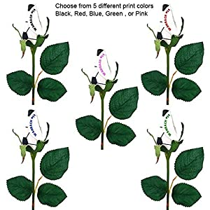 personalized volleyball rose silk flower arrangements
