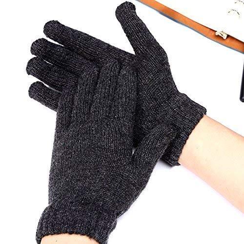 Dmqpp Nagelnieuw, 1 paar, zwart, hittebestendige beschermende handschoenen, voor kapper, haarstijltang en krultang