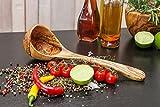 Schöpflöffel Schöpfkelle Löffel Kelle Suppenkelle aus 100 % Olivenholz BIO nur bei uns...