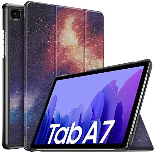 IVSO Hulle Kompatibel mit Samsung Galaxy Tab A7 104 2020 Schlank Slim Hulle Schutzhulle Hochwertiges PU mit Standfunktion Samsung Galaxy Tab A7 T505T500T507 104 Zoll 2020 CH 23