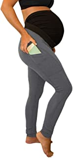 Pantalones Premama Leggings Banda par/á Barriga Leggins Embarazada Algodon Verano Maternidad Prenatal Pantalon
