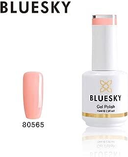 Bluesky Gel Nail Polish (80565), Peach, 15 milliliters