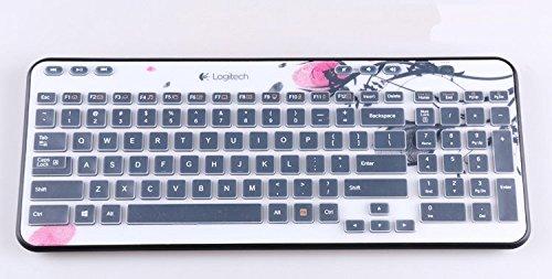 LEZE - Ultra Thin Keyboard Cover for Logitech MK360 K360 Keyboard - Clear