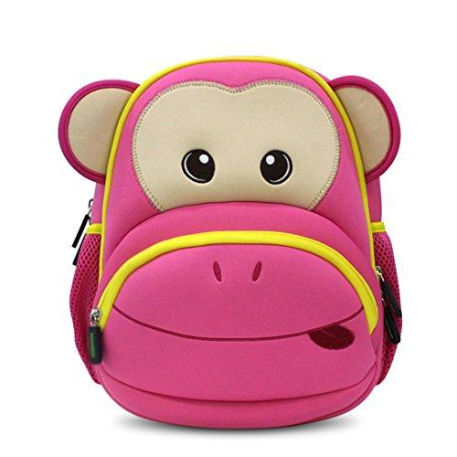 Nohoo 3D Asilo Scimmia Zainetto per bambini