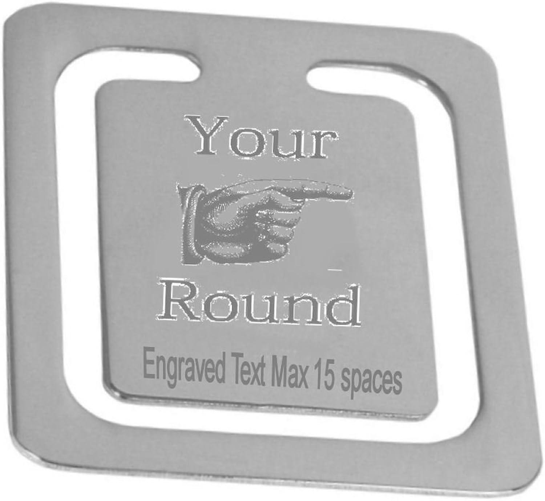 Gravierte Bier Ihre Runde Lesezeichen  personalisierte Logo Seite Lesezeichen  Boxed B01M3O8WJ3    Günstig