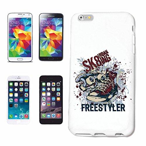 Bandenmarkt telefoonhoes compatibel met iPhone 7+ Plus Freestyler skateboard longboard turnschoenen sneaker skateboard skateboard longboard skateboard skateboard longboard skater freestyle Har