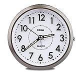 Edillas Sveglia analogica, [aggiornamento] Sveglia analogica silenziosa senza ticchettio, ...