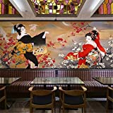 Tapeten Japanisches Design Fototapete Wandbild 3D Tapete Rolls Shop Restaurant Wand Dekorativ