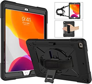 A-BEAUTY Case for iPad 8/7 (10.2-Inch, 2020/2019 Model, 8th / 7th Generation), with [Screen Protector] [Pen] [Pencil Holde...