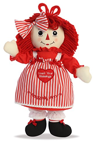 """Raggedy Ann 16"""" Count Your Blessings Doll"""