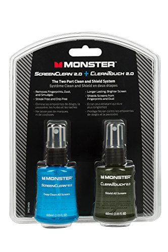 Monster ScreenClean 20 and CleanTouch 20 Clean and Shield System