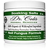 Dr. Cole's Organic Anti-Fungal Hand & Foot Soaking Salts - Extra Strength, Herbal, Anti-Fungus Treatment for Fingernails, Toenails & Athlete's Foot Infections - Disinfects & Repairs Skin & Nails