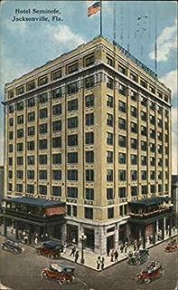 Hotel Seminole Jacksonville, Florida Original Vintage Postcard