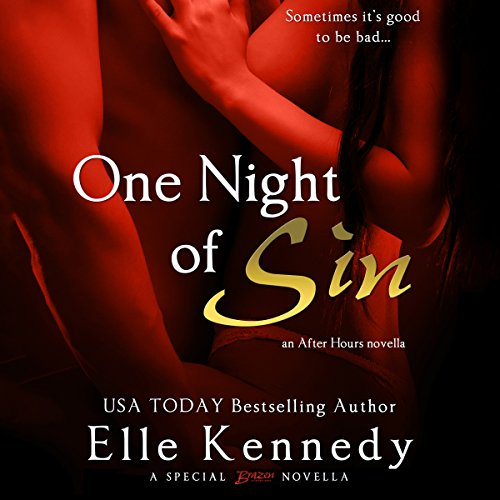 One Night of Sin audiobook cover art