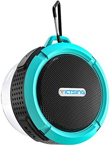 Bluetooth Shower Speaker VicTsing C6 Waterproof Bluetooth Speaker with 6H Playtime Loud HD Sound product image
