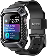 SUPCASE [Unicorn Beetle Pro] Designed for Apple Watch Series 6/SE/5/4 [40mm], Rugged Protective Case with Strap Bands (Black)