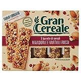 Gran Cereale - Snack Barrette 4 Cereali Mandorle e Mirtilli Rossi - Colazione e Snack Dolc...