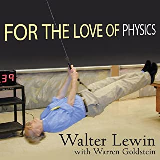 For the Love of Physics audiobook cover art